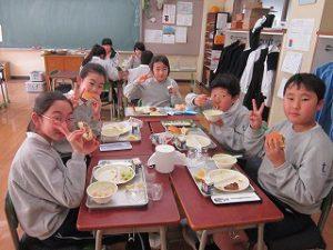 東星学園 校長 大矢正則 カトリック ミッション 男女 学校給食週間(7)