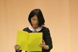 東星学園 校長・大矢正則 カトリック ミッション 男女 高学年朗読大会(5)