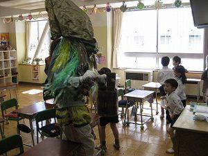 東星学園 校長・大矢正則 カトリック ミッション 男女 節分・豆まき(3)