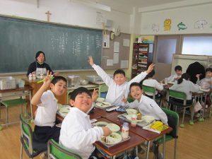 東星学園 大矢正則校長 清瀬 私立 小学校 学校給食週間(6)
