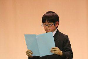 東星学園 大矢正則校長 カトリック ミッション 男女 高学年朗読大会 (3)