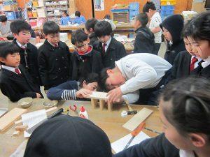 東星学園 大矢正則校長 カトリック ミッション 男女 3年生クラブ訪問(3)