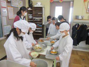 東星学園 校長 大矢正則 カトリック ミッション 男女 学校給食週間(1)
