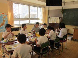 東星学園 大矢正則校長 カトリック ミッション 男女 学校給食週間(9)