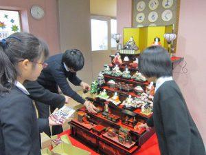 東星学園 大矢正則校長 清瀬 私立 小学校 ひな祭り(3)