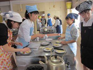 東星学園 校長 大矢正則 カトリック ミッション 男女 家庭科(6年生)(1)