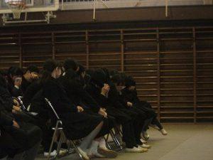 東星学園 大矢正則校長 カトリック ミッション 男女 「6年生を送る会」(3)