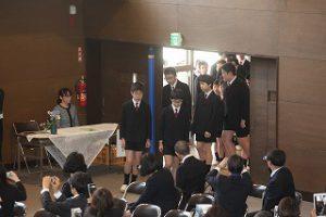東星学園 校長・大矢正則 清瀬 私立 小学校 第82回 卒業式(2)