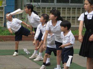 カトリック ミッション 共学 東星学園 校長大矢正則 親子ひこうき教室(5)