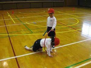 東星学園 校長 大矢正則 清瀬 私立 小学校 運動会練習(低学年)(2)