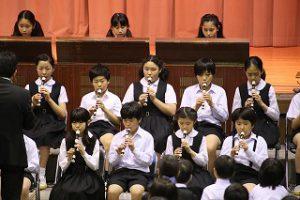 東星学園 大矢正則校長 カトリック ミッション 男女 ヨゼフ祭 舞台発表(1)
