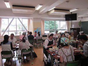 私立 清瀬 男女 東星学園 校長・大矢正則 給食試食会(4)