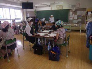 カトリック ミッション 共学 東星学園 校長・大矢正則 給食試食会(1)