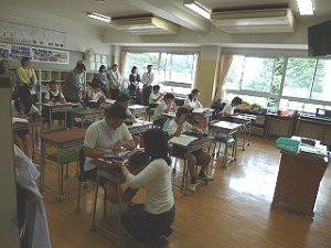 東星学園 大矢正則校長 清瀬 私立 小学校 授業参観(6)