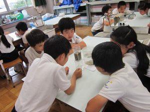 東星学園 校長・大矢正則 カトリック ミッション 男女 4年生 水道キャラバン(7)