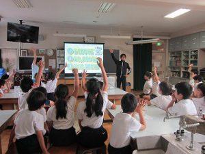 東星学園 校長・大矢正則 清瀬 私立 小学校 4年生 水道キャラバン(2)