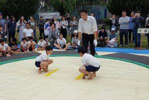 東星学園 校長 大矢正則 カトリック ミッション 男女 第37回 わんぱく相撲清瀬場所(7)