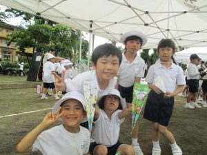 東星学園 校長・大矢正則 清瀬 私立 小学校 ひこうき大会(2)