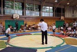 東星学園 大矢正則校長 カトリック  ミッション 男女 第37回 わんぱく相撲清瀬場所(9)