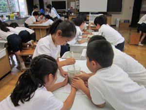 東星学園 校長・大矢正則 カトリック ミッション 男女 4年生 水道キャラバン(5)