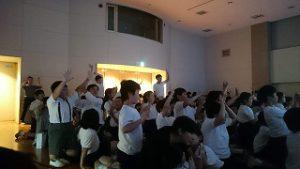 東星学園 大矢正則校長 清瀬 私立 小学校 鑑賞会(2)
