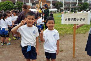 東星学園 校長・大矢正則 清瀬 私立 小学校 第37回 わんぱく相撲清瀬場所(2)
