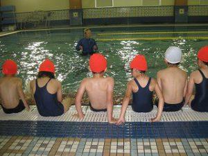 東星学園 校長・大矢正則 清瀬 私立 小学校 水泳授業が始まりました!(2)