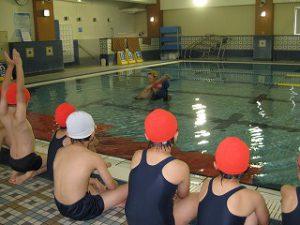 東星学園 校長 大矢正則 清瀬 私立 小学校 水泳授業が始まりました!(4)