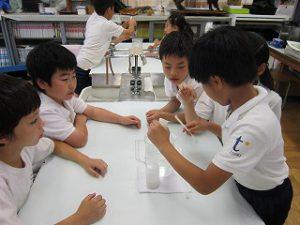 東星学園 校長 大矢正則 清瀬 私立 小学校 4年生 水道キャラバン(4)