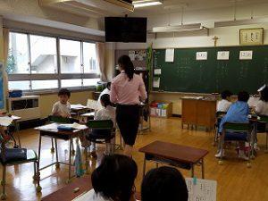 東星学園 校長 大矢正則 カトリック ミッション 男女 3年生 授業の様子(1)