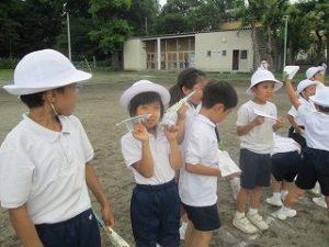 東星学園 校長 大矢正則 カトリック ミッション 男女 ひこうき大会(1)