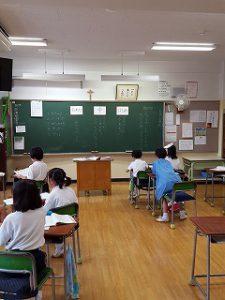 東星学園 校長・大矢正則 清瀬 私立 小学校 3年生 授業の様子(2)