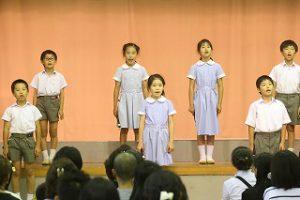 東星学園 校長 大矢正則 カトリック ミッション 男女 第5回 音楽会(7)