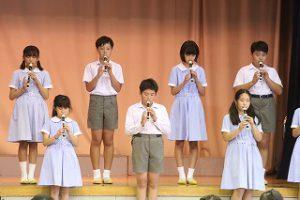 東星学園 大矢正則校長 清瀬 私立 小学校 第5回 音楽会(12)