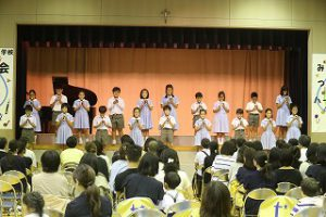 東星学園 校長 大矢正則 清瀬 私立 小学校 第5回 音楽会(10)