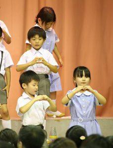 東星学園 校長・大矢正則 第5回 清瀬 私立 小学校 音楽会(2)