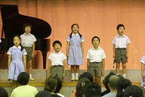 東星学園 校長・大矢正則 清瀬 私立 小学校 第5回 音楽会(8)