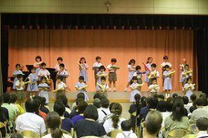 東星学園 大矢正則校長 カトリック ミッション 男女 第5回 音楽会(3)