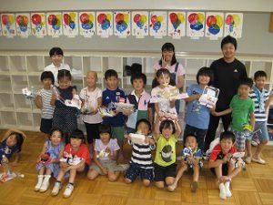 東星学園 校長・大矢正則 カトリック ミッション 男女 夕涼み会(5)