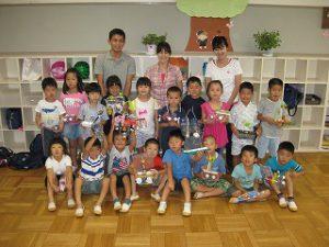 東星学園 校長 大矢正則 清瀬 私立 小学校 夕涼み会(4)
