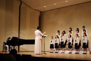 東星学園 校長 大矢正則 カトリック ミッション 男女 東星少年少女合唱団 第42回定期演奏会(1)