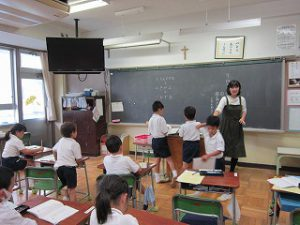 東星学園 校長 大矢正則 清瀬 私立 小学校 元気いっぱい1年生(4)
