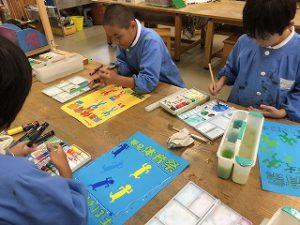 東星学園 校長 大矢正則 清瀬 私立 小学校 ポスターができました!(2)