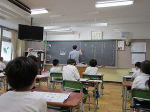 東星学園 校長 大矢正則 カトリック ミッション 男女 元気いっぱい1年生(1)