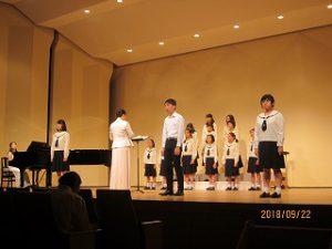 東星学園 大矢正則校長 カトリック ミッション 男女 東星少年少女合唱団 第42回定期演奏会(3)