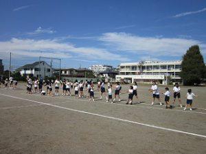 東星学園 校長 大矢正則 清瀬 私立 小学校 2018年度 後期始業式(4)