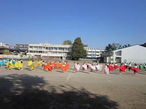 東星学園 大矢正則校長 カトリック ミッション 男女 体育祭 布体操(1)