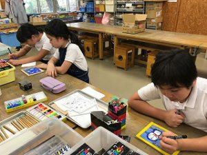 東星学園 校長・大矢正則 清瀬 私立 小学校 バザーの準備(2)