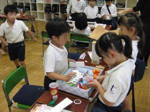 東星学園 校長 大矢正則 清瀬 私立 小学校 1年生 お店屋さんごっこ(4)