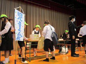 東星学園 大矢正則校長 カトリック ミッション 男女 東星バザー(9)